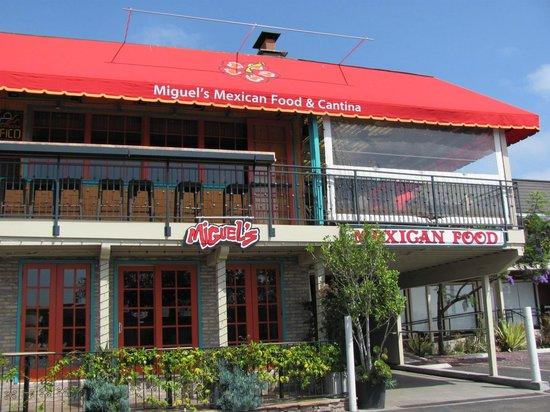 Miguel's Cocina: Outdoor Patio (upstairs)