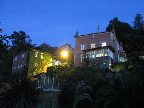 Quinta das Murtas: Main house from the tiny house