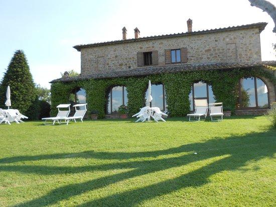 Villa San Bartolomeo: The view from the pool