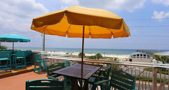 Backyard Porch Panama City Beach : Patio dining  Picture of Pompano Joes, Panama City Beach