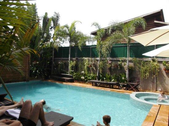 Tanei Boutique Villa: piscina, bella e pulita!