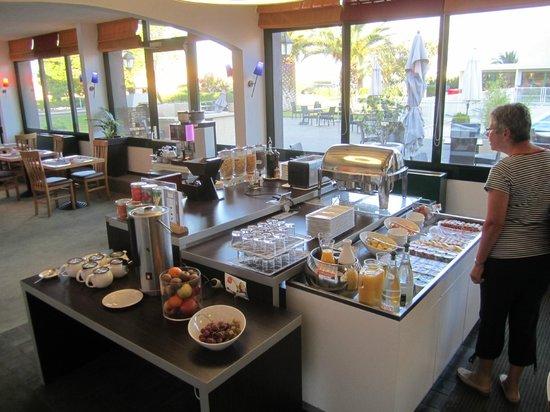 Hotel Novotel Perpignan : Vielseitiges Morgenbuffet