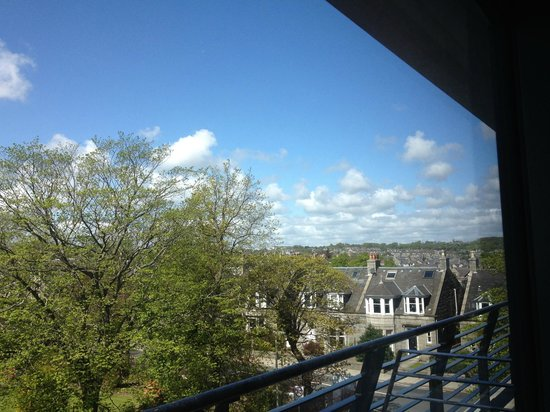 Great Western Hotel Aberdeen: Balcony