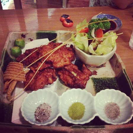 Mangetsu: Nice food presentation however nothing great