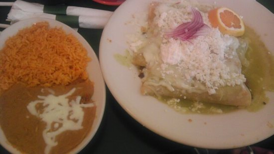 Mr. Tequila Mexican Restaurant: Enchiladas eww
