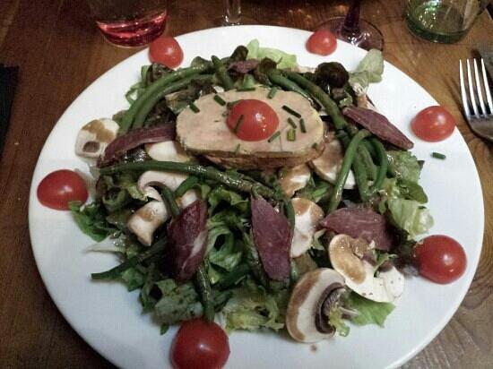 Café-restaurant la Forge: Salade gourmande