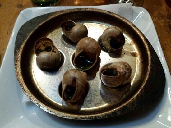 Café-restaurant la Forge: escargots