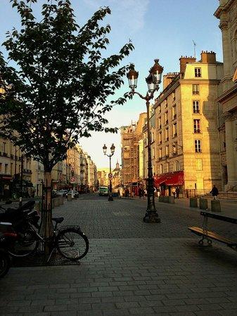 Street view of Marais - Picture of Grand Hotel du Loiret, Paris ...