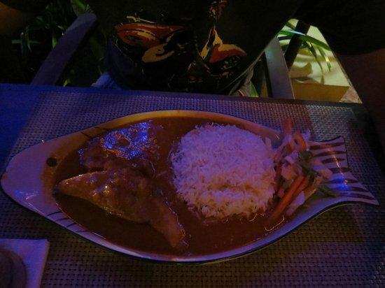 The Fern Gardenia Resort: Fish Curry