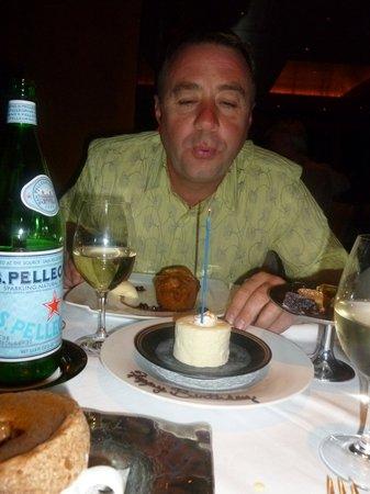 Restaurant Gary Danko: Birthday boy