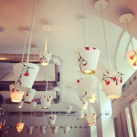 Orlando di Castello : ceiling lights