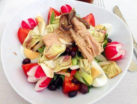 La Note Bleue: Salad Niçoise