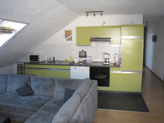 Ferienwohnungen Krauss: Kitchen area