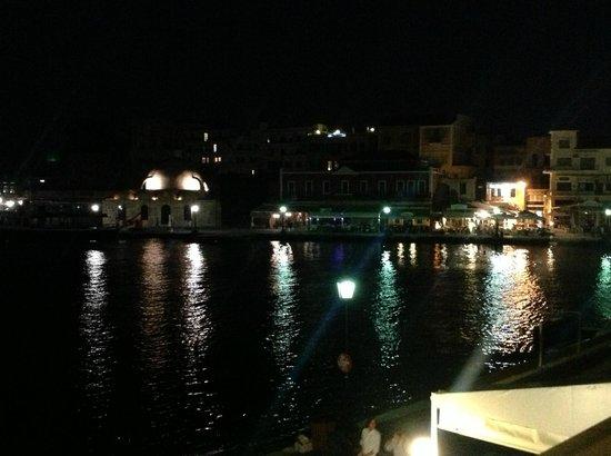Hotel Zafiria : Matala by night
