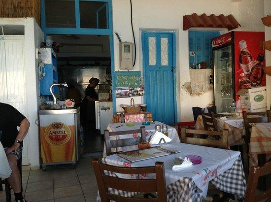 Hotel Zafiria : Eleni in cucina