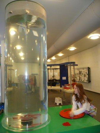 Winchester Science Centre & Planetarium : Creating a Stir
