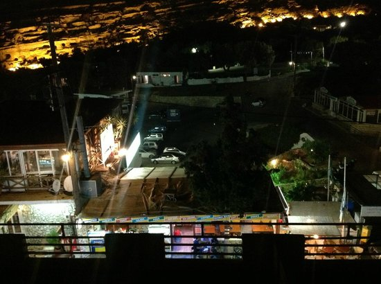 Hotel Zafiria : Caves by night