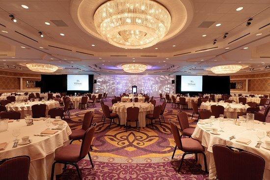 Hilton Charlotte Center City: Grand Ballroom