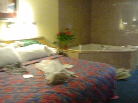 Motel 6 Gatlinburg Smoky Mountains: Just like the picture on the website..excuse the photo quality.