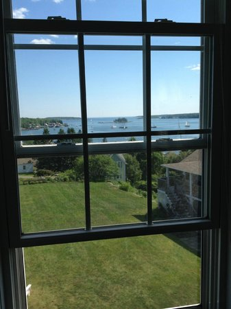 Topside Inn: The view from one of my windows.