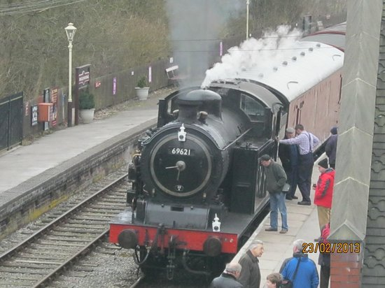 Churnet Valley Railway: Awaiting Departure