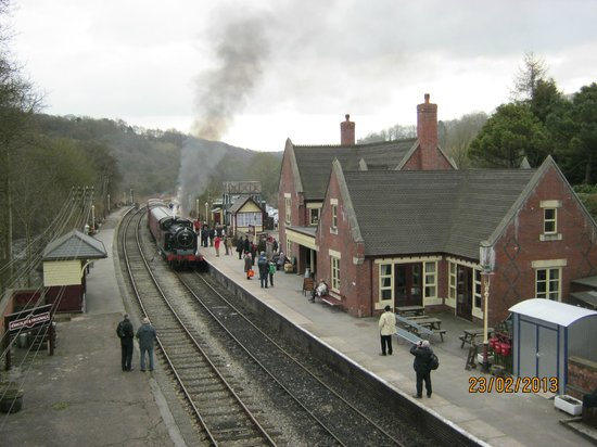 Churnet Valley Railway: View of Kingley and Froghall Station