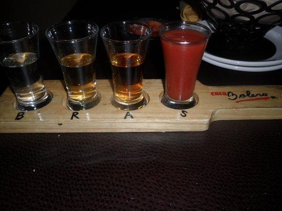 Casa Bolero: 1800 Tequila Tasting