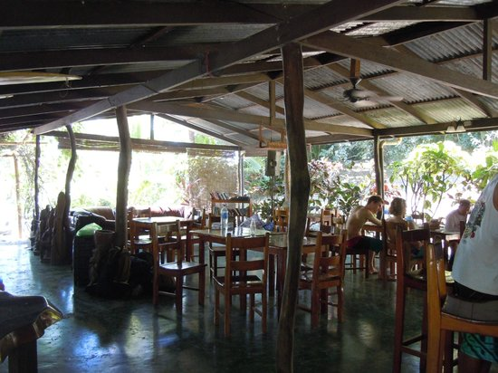 Mal Pais Surf Camp & Resort : Cafe