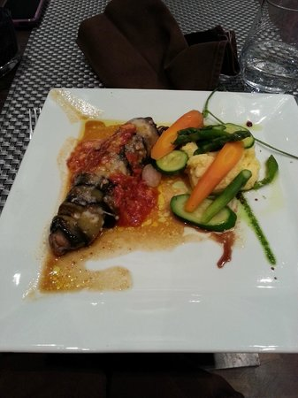 Le Bistrot Gourmand : Slow cooked lamb with eggplant