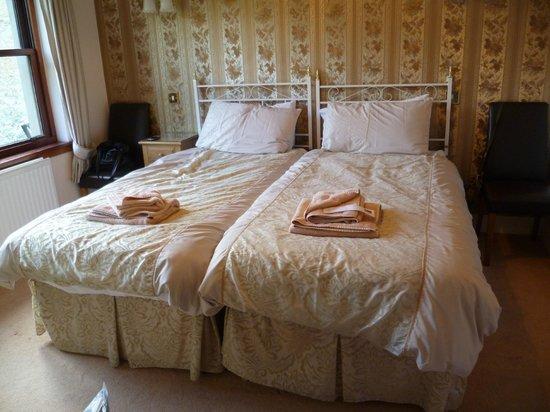 Dunfermline House B&B: Twin Room, aber zusammen geschoben geht es