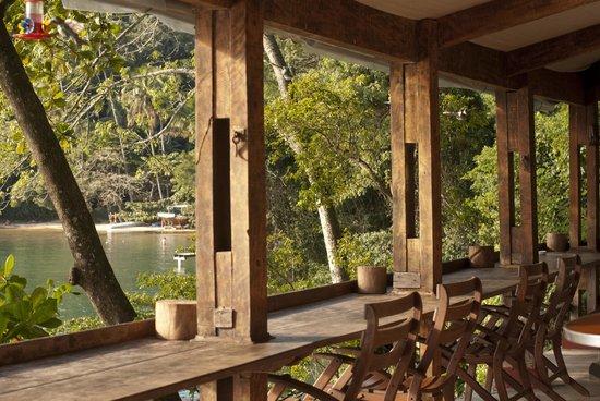 Asalem: Área de café e restaurante