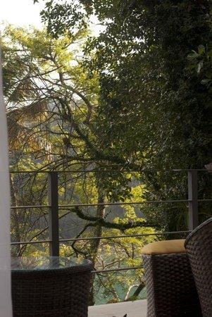 Asalem: Varanda e vista da Suite Eco