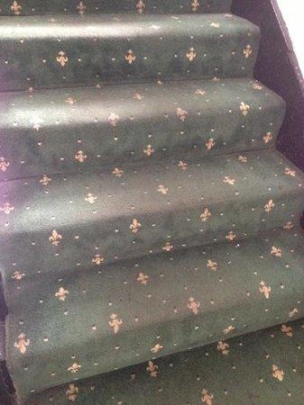 Dublin Citi Hotel: filthy carpets