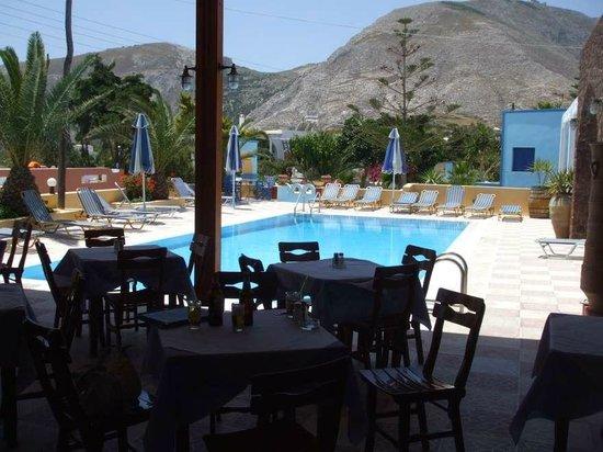 Dimitris Villas : The pool..