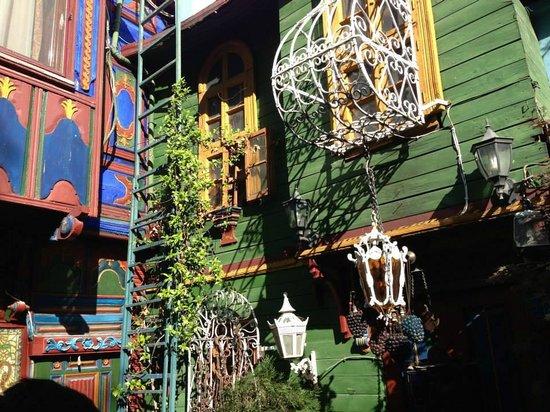 Kybele Cafe Restaurant: magic terrace