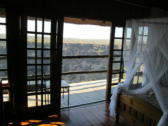Gorges and Little Gorges Lodge: View from #4
