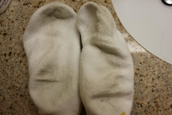 Holiday Inn Express Longmont: What was once a new pair of socks