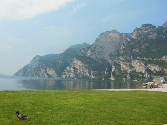 Hotel Riviera: zicht op meer