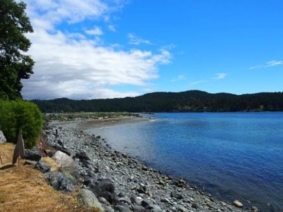 Sooke Harbour House Resort Hotel: Walking Path at the back of the Property
