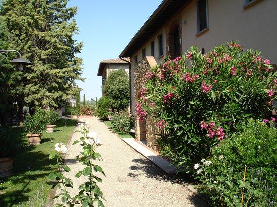Tenuta delle Rose: Huset jeg bodde i.