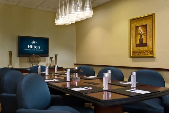 Hilton Woodland Hills/Los Angeles: Boardroom