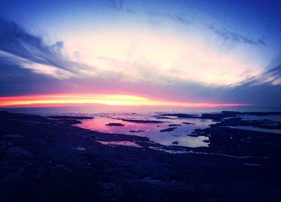 The Diamond Rocks Cafe: Sunset View