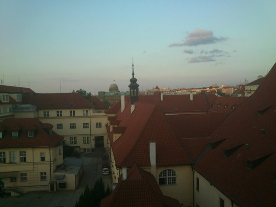 President Hotel Prague : View from room