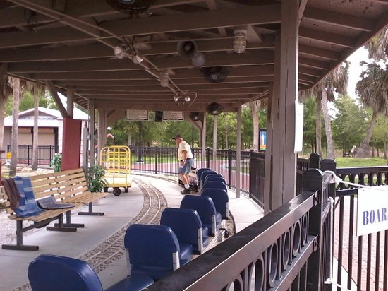Railroad Museum of South Florida: Small Train Ride