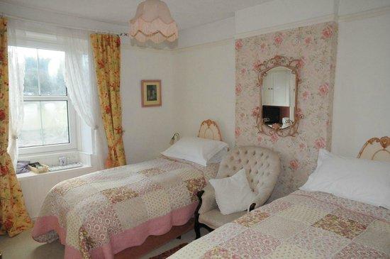 Tintern Old Rectory B&B: Riverview bedroom