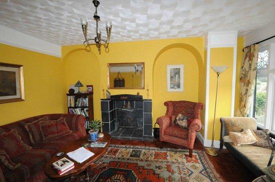 Tintern Old Rectory B&B: Sitting room