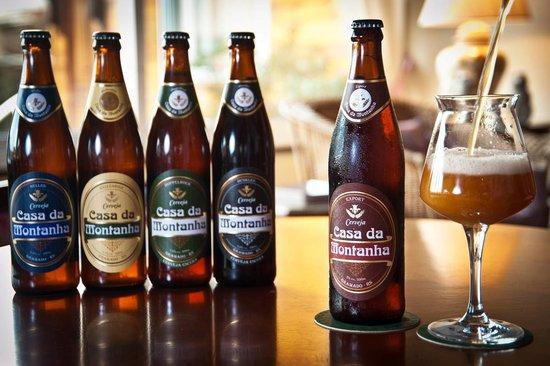 Hotel Casa da Montanha: Cervejas do Hotel