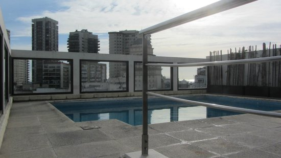 Argenta Tower Hotel and Suites: Terraza