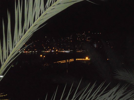 SENTIDO Marina Suites- Adult Only : view from room at nite