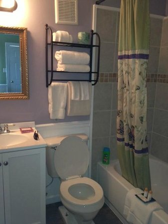 Sea Sound Motel: Bathroom- Super cute!